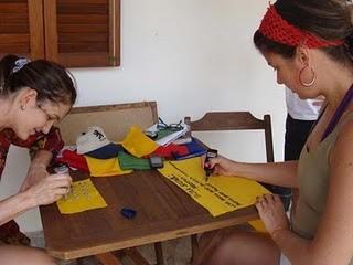 Fazendo bandeiras